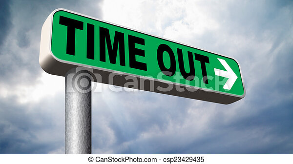 time out - csp23429435