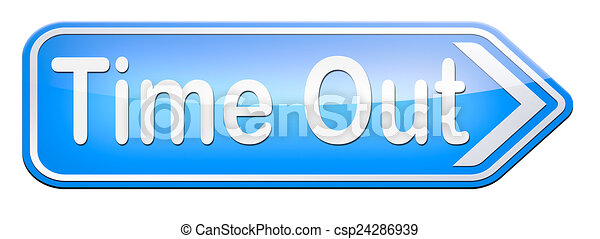 time out - csp24286939