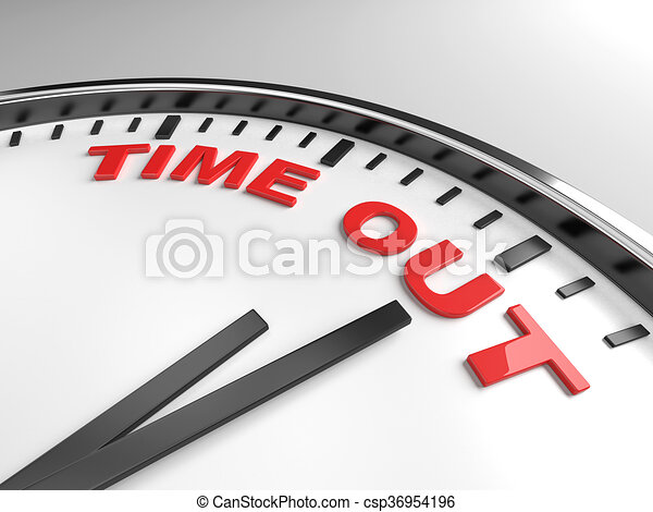 time out - csp36954196