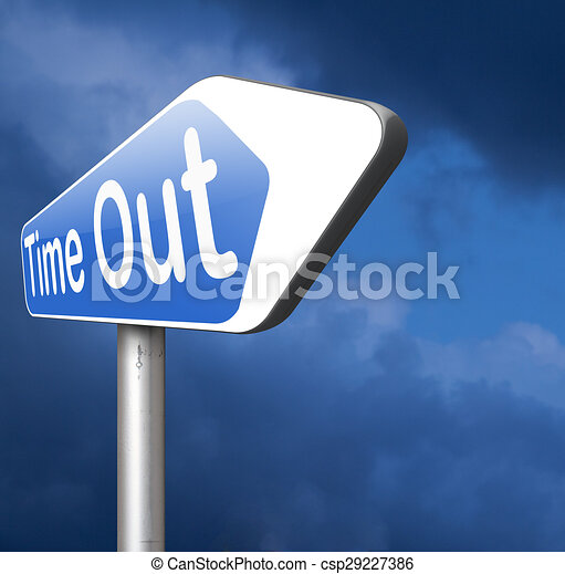 time out - csp29227386