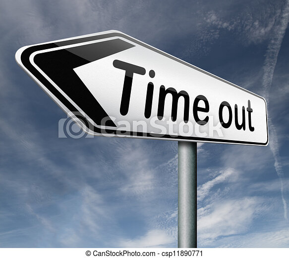 time out - csp11890771