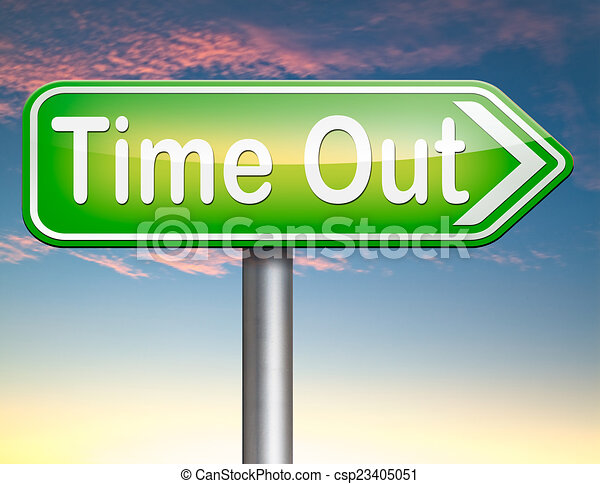 time out - csp23405051