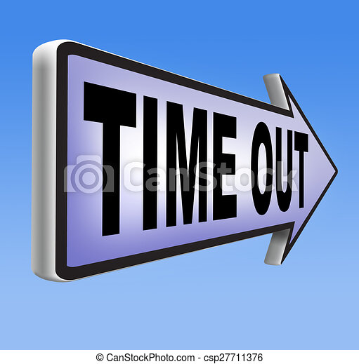 time out - csp27711376