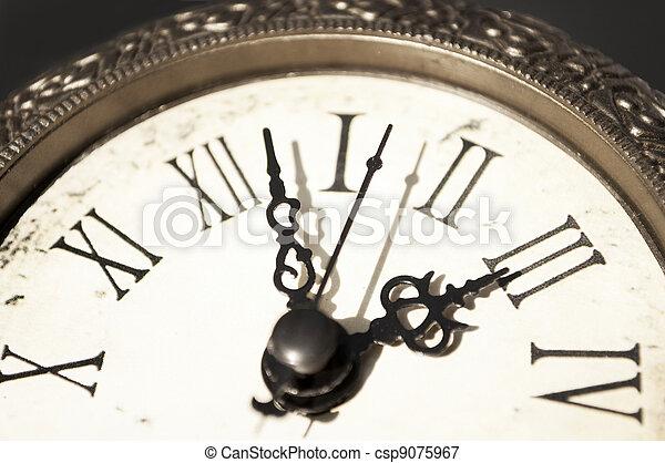 Time passing away - csp9075967