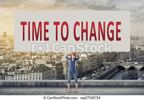 Time to change - csp27336724