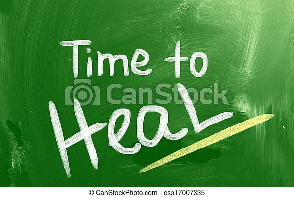 Time To Heal Concept - csp17007335