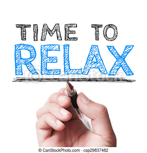 Time to relax - csp29837482