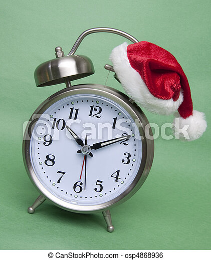 Time Until the Holidays - csp4868936