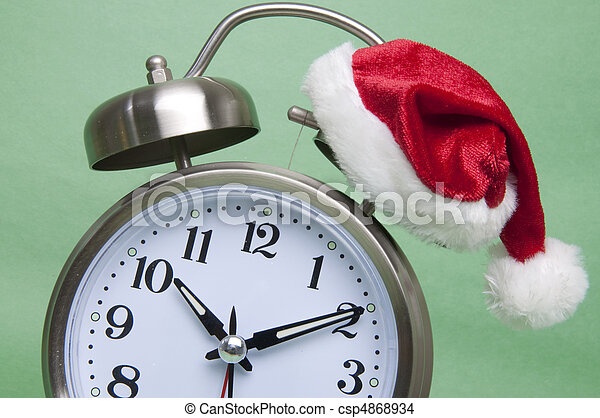 Time Until the Holidays - csp4868934