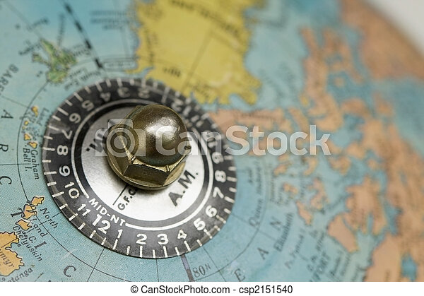 Close up of time zones on the top of an old globe stock photography time zones csp2151540 sciox Image collections