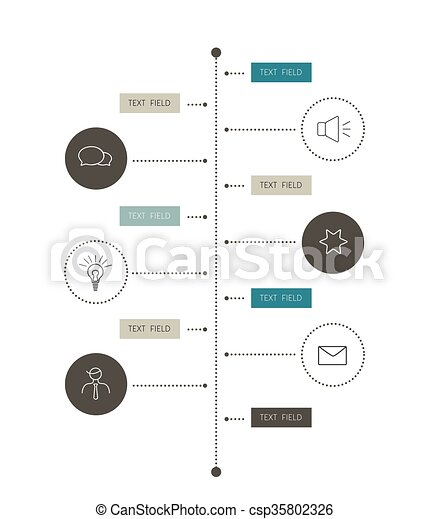 Timeline Report Template Color Shadow Scheme Diagram Vertical Design - Timeline graphic template