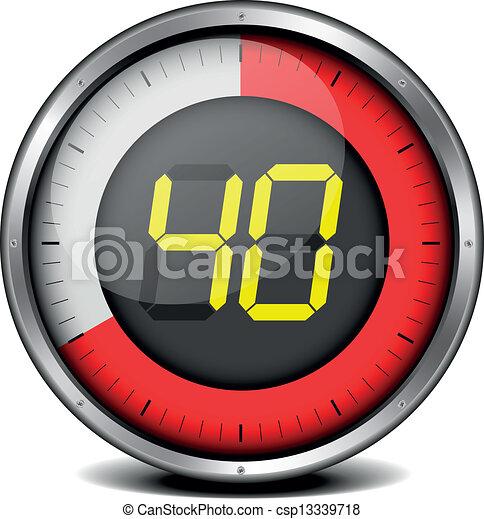 timer digital 40 - csp13339718