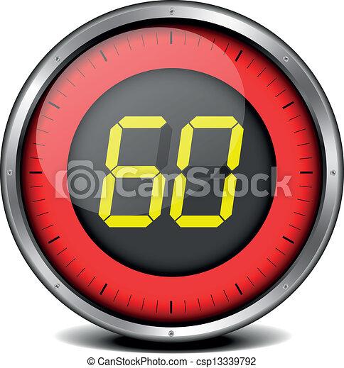 timer digital 60 - csp13339792