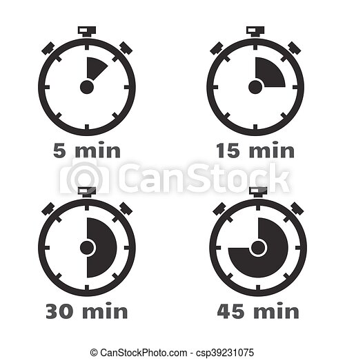 set timer 5 mins