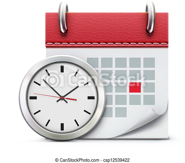 timing concept  - csp12539422