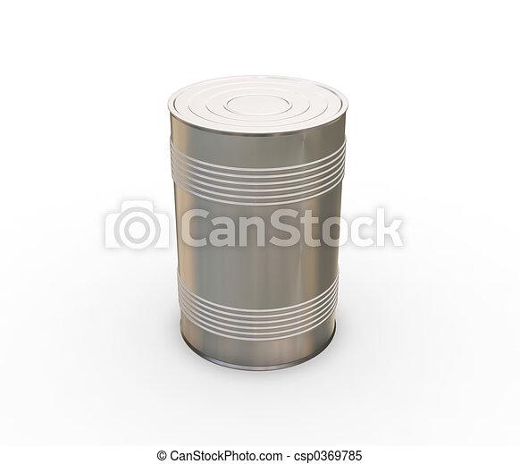 Tin can - csp0369785