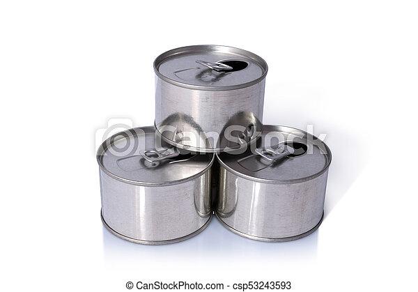 Tin Cans - csp53243593