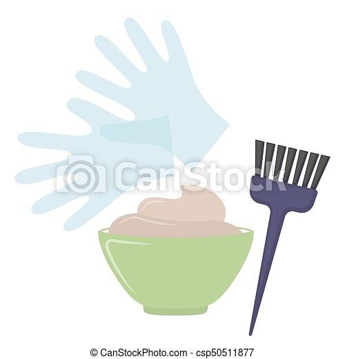Herramientas para el cabello - csp50511877