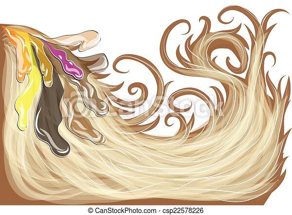 Tinte de pelo - csp22578226