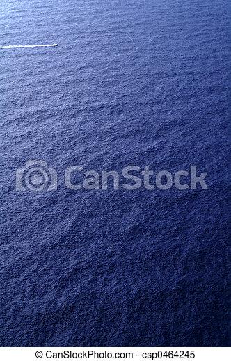 Tiny boat or big sea - csp0464245