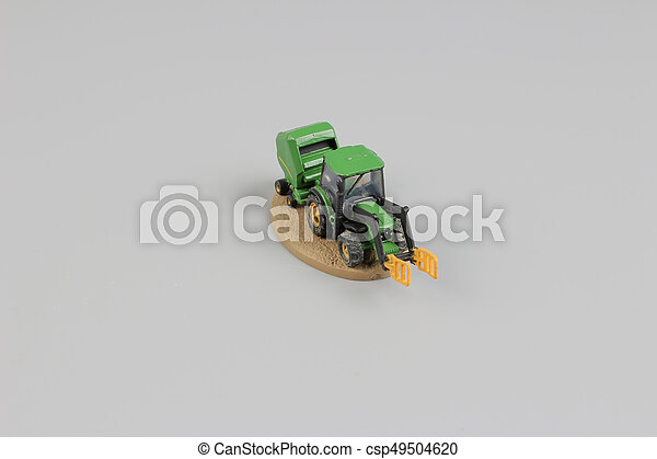 tiny of fun modell of Agricultural machinery. - csp49504620