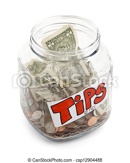 Tip Jar - csp12904488