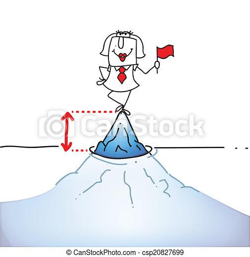 Tip of the iceberg - csp20827699