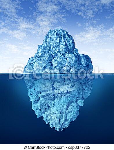 Tip Of The Iceberg - csp8377722