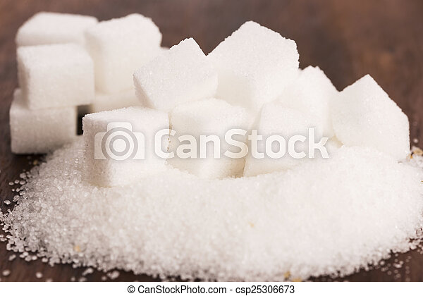 tipo, difrent, açúcar - csp25306673