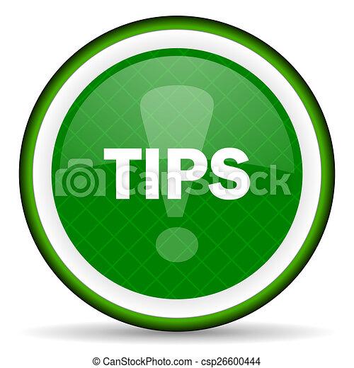 tips green icon - csp26600444