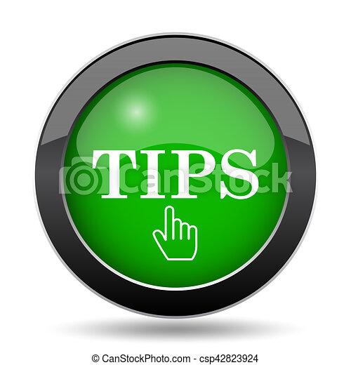 Tips icon - csp42823924