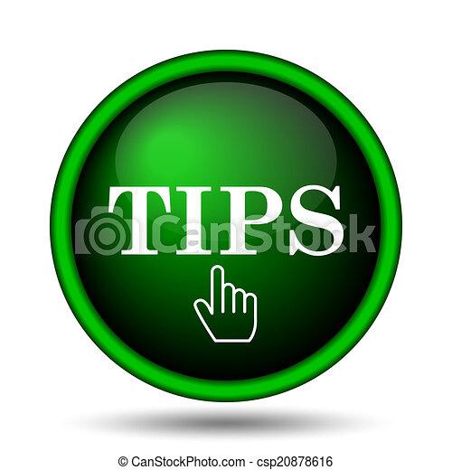 Tips icon - csp20878616