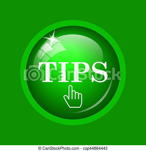 Tips icon - csp44864443