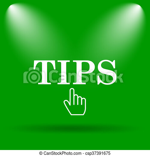 Tips icon - csp37391675