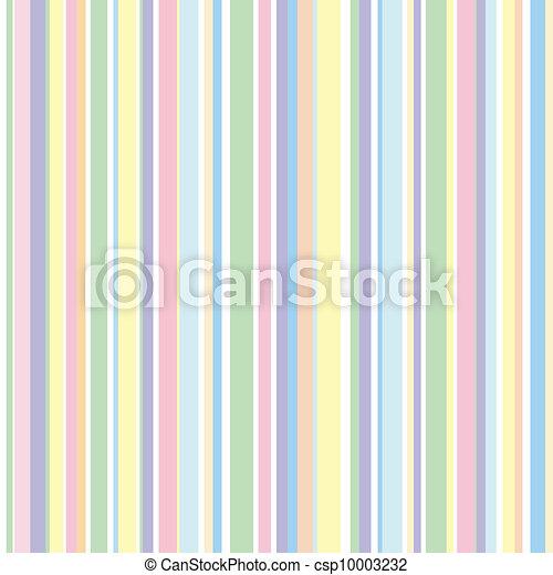 Patrón de franja, colores pastel - csp10003232