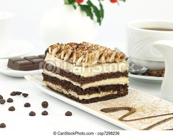 Tiramisu dessert - csp7298236