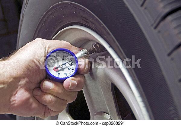 Tire Pressure - csp3288291