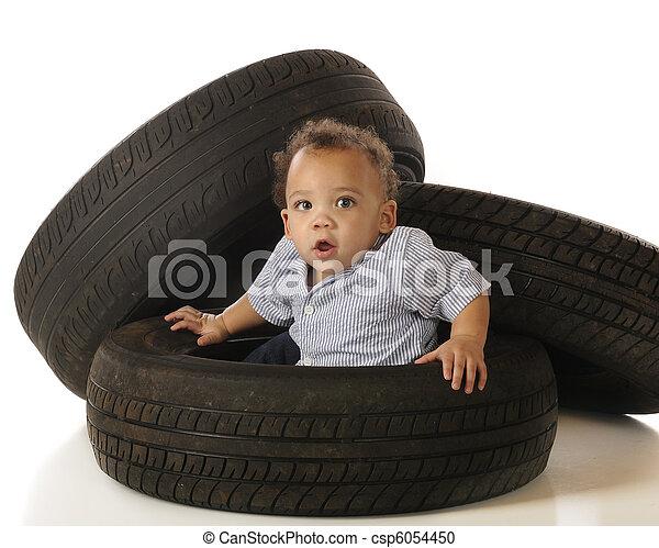 Tire-Stuck - csp6054450
