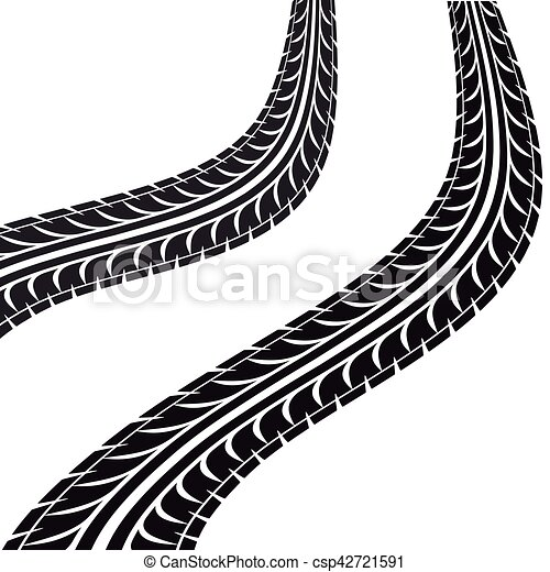 tire tracks isolated icon vector illustration design eps vectors rh canstockphoto co uk tire track vector free download tire tracks vector brush