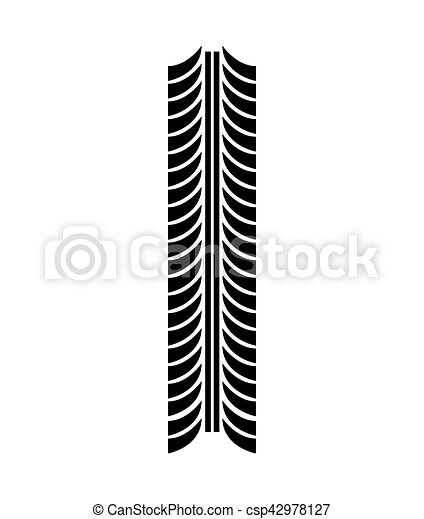tire tracks mark isolated icon vector illustration design rh canstockphoto com tire tracks clipart free motorcycle tire tracks clipart