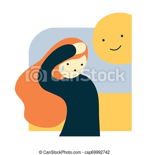 Royalty-Free (RF) Clipart Illustration of a Smiling Hispanic Weather Girl  Discussing Weather Patterns by Rosie Piter #77221