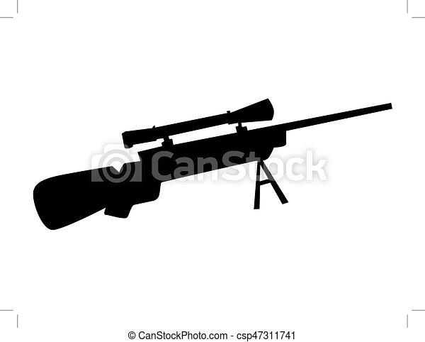 tireur embusqué, fusil - csp47311741