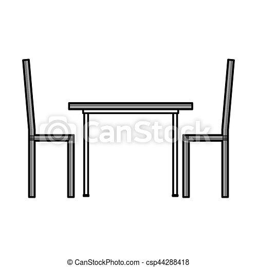 tisch abendessen freigestellt ikone freigestellt abbildung abendessen vektor design. Black Bedroom Furniture Sets. Home Design Ideas