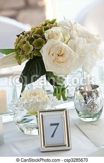 tisch, dekor - csp3285670