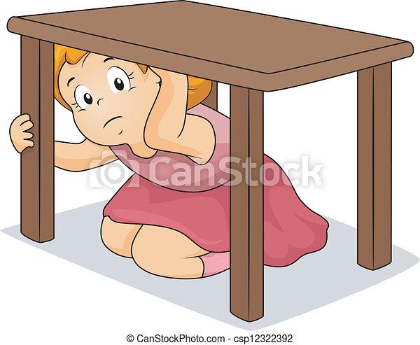 Tisch m dchen verstecken unter tisch m dchen for Tisch school of design