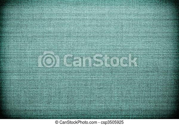 tissu bleu, texture - csp3505925