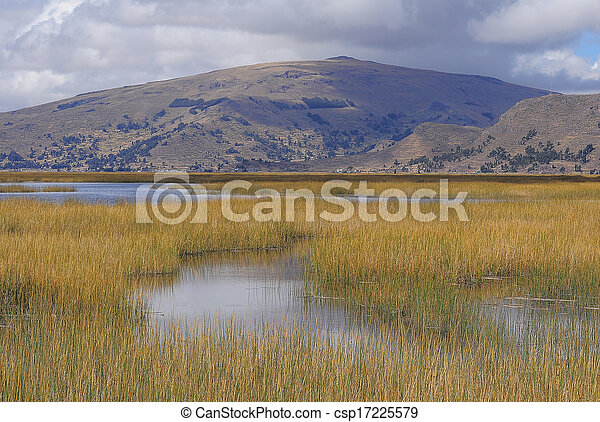Titicaca lake. - csp17225579