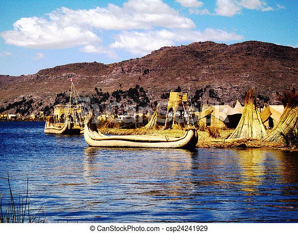 Titicaca - csp24241929