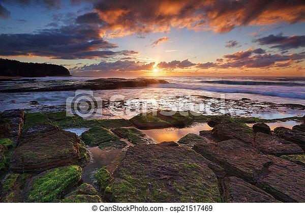 tiurrimetta, austrália, praia - csp21517469