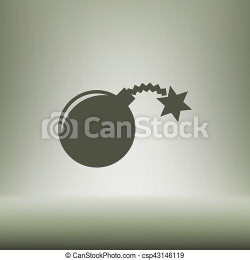Icono vector TNT - csp43146119